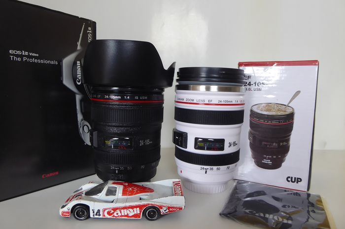 Canon, Caniam Drinkbekers , video, reclame auto
