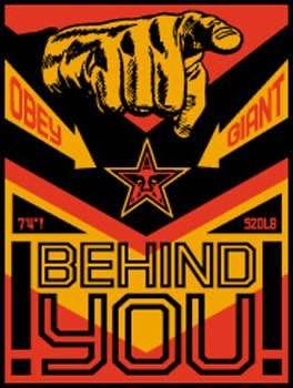 Shepard Fairey (OBEY) - Behind You