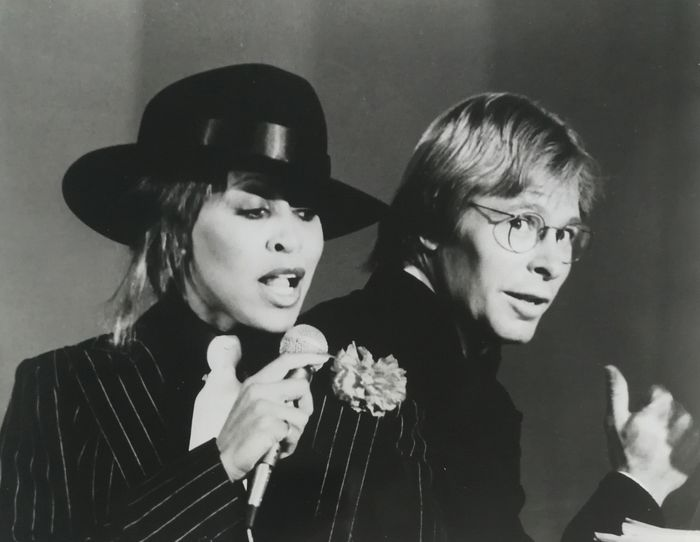 Unknow/Solters & Roskin INC - Tina Turner and John Denver, 1979