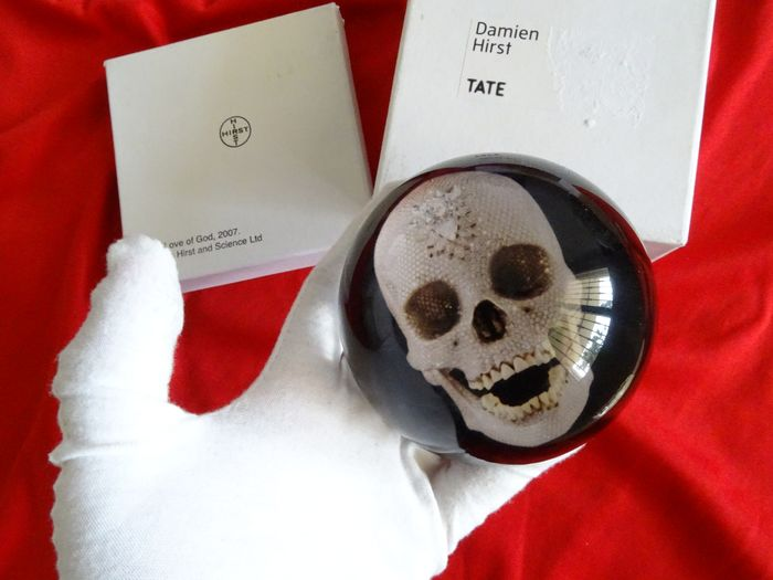 Damien Hirst For The Love Of God Paperweight Catawiki