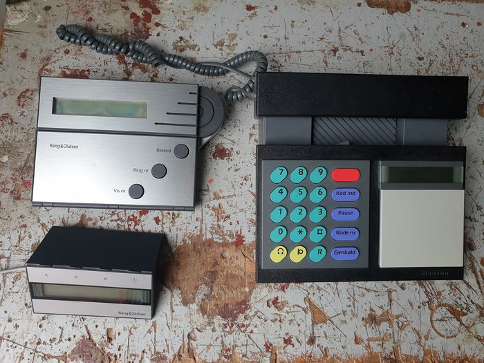 B&O - Beocom 2000, Beotalk 1100 & Beotalk 400 - Multiple models - Telephone, answering machine and caller number
