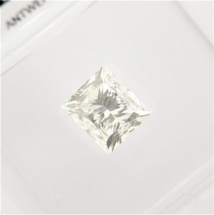1 pcs Diamant - 1.01 ct - Prinzess - I - VVS1