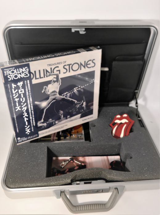 Rolling Stones - Zero Halliburton Limited Edition Promo Case/Tour 2002 /Filled with many Treasures - Official merchandise memorabilia item, Picture, Reprint poster (Reissue), Tickets , Award, Lletters, Postcards... all Replika - 2002/2002