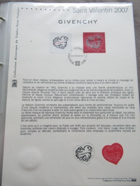 Frankreich 2007 - Complete year of philatelic documents from the post office