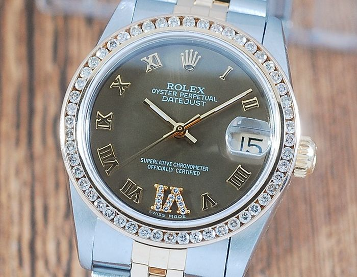 Rolex - Oyster Perpetual Datejust - 68273 - Femme - 1980-1989