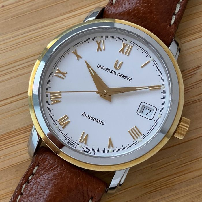 Universal Genève - Classic Automatic Two-Tone - Ref. 262.160 - N.O.S. - Men - 1990-1999