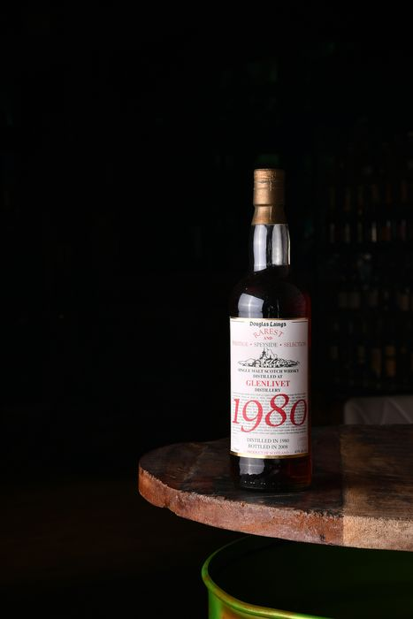 Glenlivet 1980 Rarest and Prestige Selection Single Malt Scotch Whisky  - Douglas Laing - 700ml