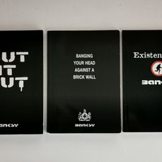 Banksy - Cut It Out & Existencilism & Banging your Head - 2004