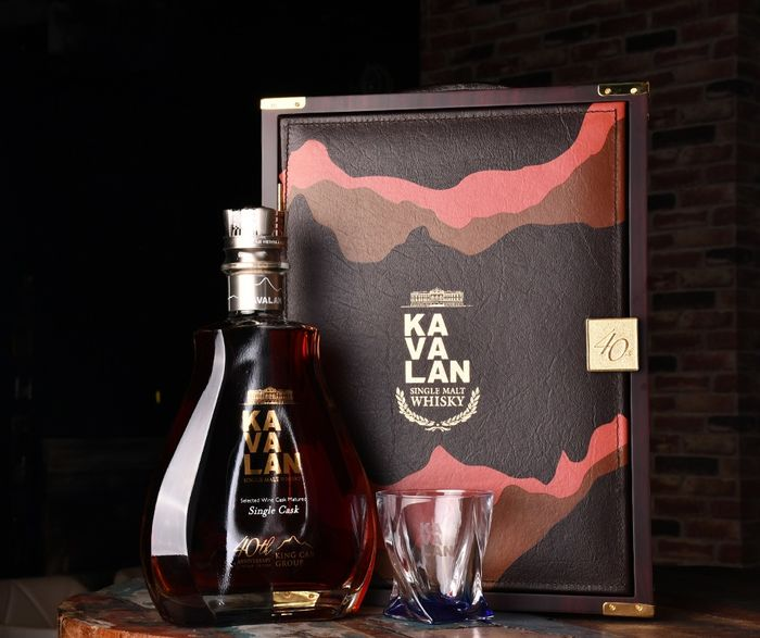 Kavalan Selected Wine Cask Limited Edition exclusively released for King Car Group 40th Anniversary - 1500 ml