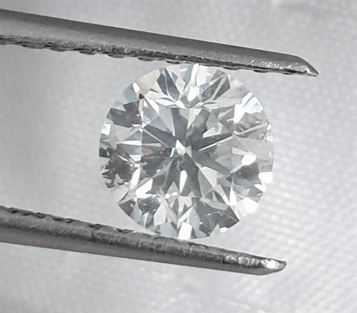 Diamond - 1.00 ct - Brilliant - G - SI1