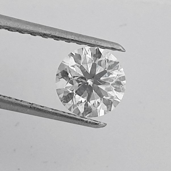 Diamante - 1.02 ct - Brillante - G - SI1