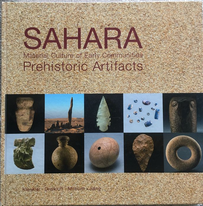 book paper Sahara: Material Culture of Early Communities - (1)