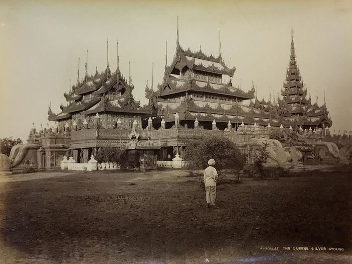 Anonyme - Birmanie, Mandalat The Queens Silver Kyoung
