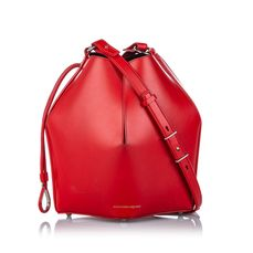 Alexander McQueen - Leather The Bucket Bag Sac seau