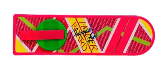 Back to the Future - Part II -  Christopher Lloyd (Doc Brown)  - Autograph, Signed Full-Size Hover Board - with Hologram COA