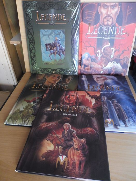 Legende 1 t/m 6 - 6 Albums + 1 Box - Complete reeks - Hardcover - First edition - (2003/2011)
