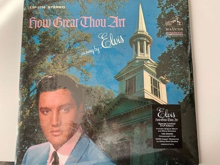 Elvis Presley - How Great Thou Art FTD Limited Edition Vinyl - 2xLP Album (dubbel album) - 2011/2011