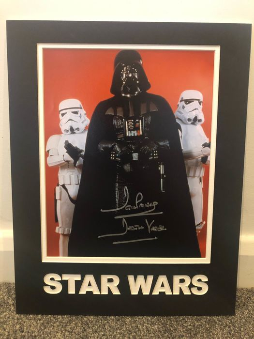 Star Wars - David Prowse - Darth Vader - Autografo, Foto, Signed, with Coa