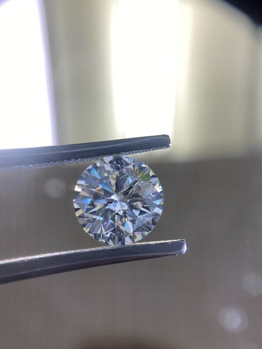 1 pcs Diamond - 2.50 ct - Round - I - SI2