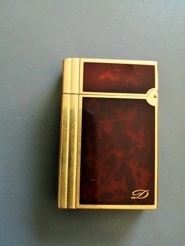 S.T. Dupont - Lighter - fire bird china lacquer of 1