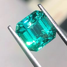 1 pcs  Esmeralda - 4.33 ct