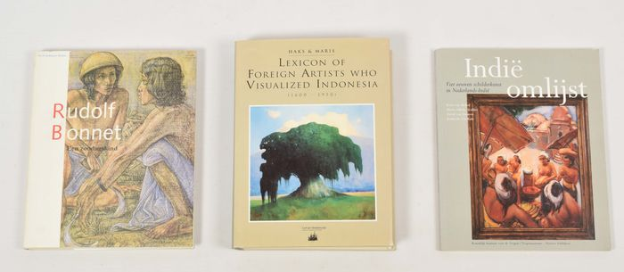 Leo Haks & Guus Maris - Lexicon of Foreign Artists Who Visualized Indonesia (1600-1950) [+2] - 1993/1998