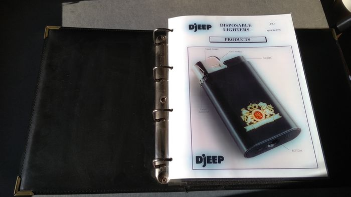 DJEEP - Lighter - Complete collection of 96