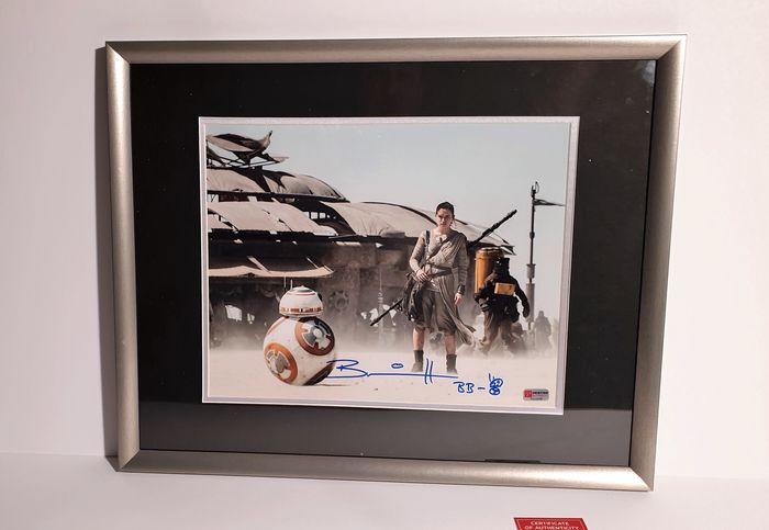 Star Wars - Brian Herring (BB-8) - Autograf, Foto, signed in person, framed