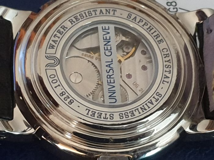 "Universal Genève - Power Reserve ""New Old Stock"" - 828.100 - Men - 1990-1999"