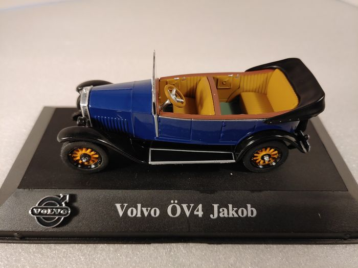 Accurate Scale Models - 1:43 - Volvo ÖV4 Jakob 1927-1929 donkerblauw