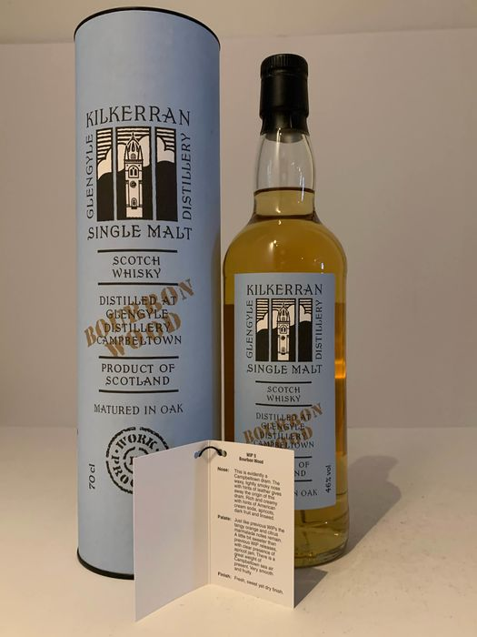 Kilkerran Work in Progress 5 Bourbon Wood - Original bottling - 70cl