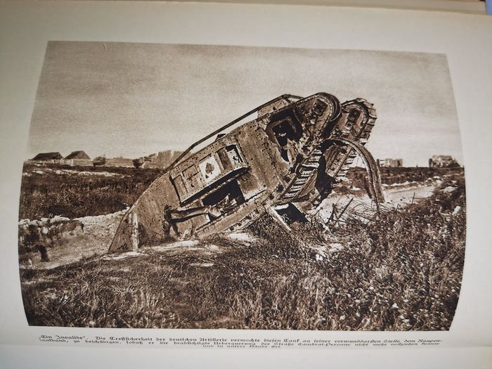 Germany - Tanks, infantry, battlefields - book, The World War in the picture, volume 1, approx. 500 photos - Book - 1930