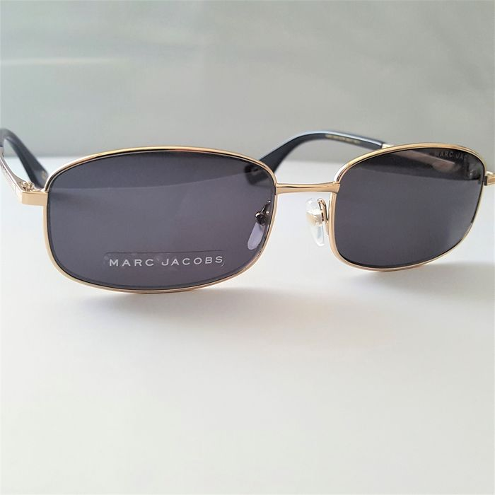 Marc Jacobs - Rectangular Gold Handmade - 2020 - New - Made in Italy Sunglasses