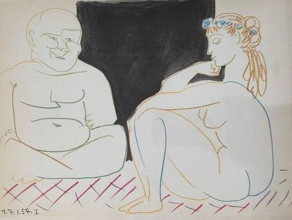 Pablo Picasso - Untitled from Verve