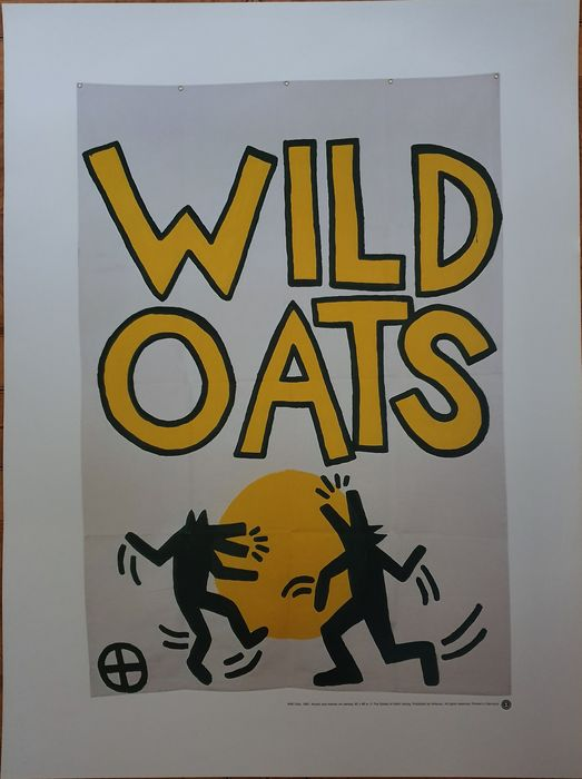 Keith Haring (after) - Wild Oats, 1981