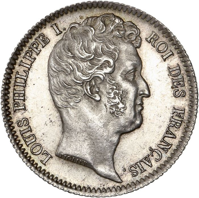 France - Louis Philippe I - 1 Franc 1831-A (Paris) - Silver