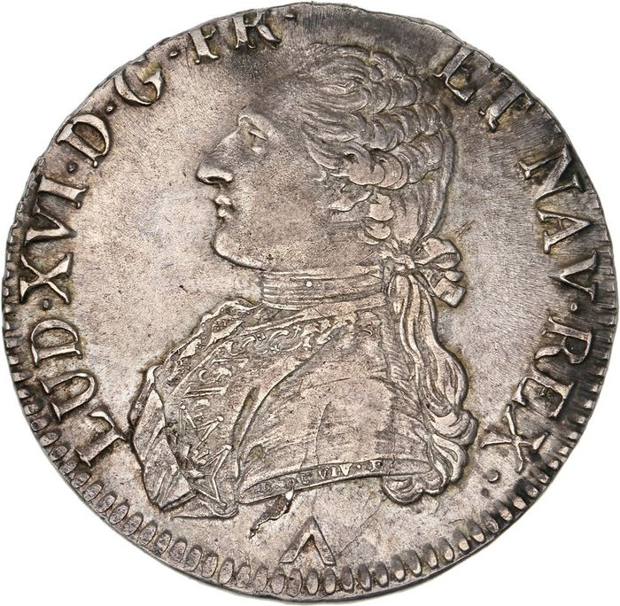 France - Louis XVI - Ecu 1775-W (Lille) - Silver
