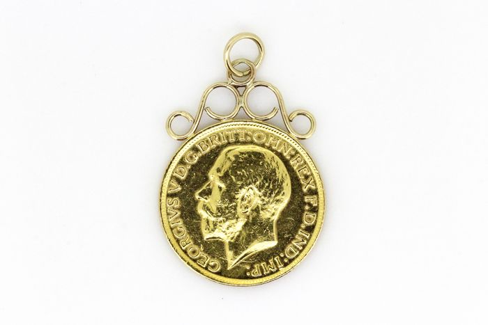 1913 Gold Sovereign George V - 22 kt. Yellow gold - Sovereign