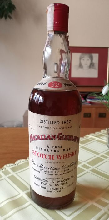 Macallan 1937 32 years old - b. appr. 1970 - 75cl