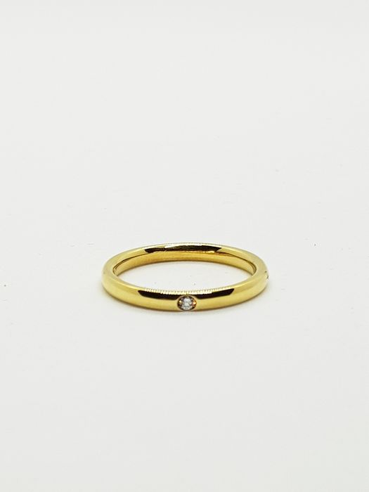 Pomellato - 18 kt. Yellow gold - Ring - 0.03 ct Diamond