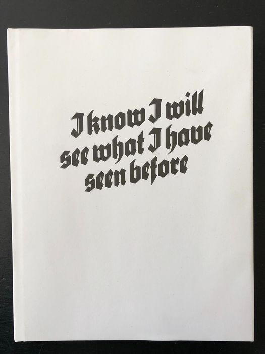 Thomas Albdorf - I Know I Will See What I Have Seen Before - 2015