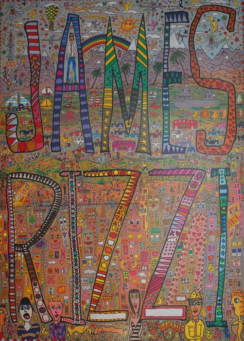 James Rizzi (after) - Offset Lithography - 1988 - 1980-tallet