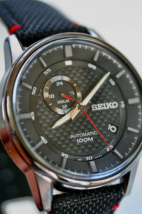 Seiko - Automatic Carbon-Racing edition - Heren - 2011-heden