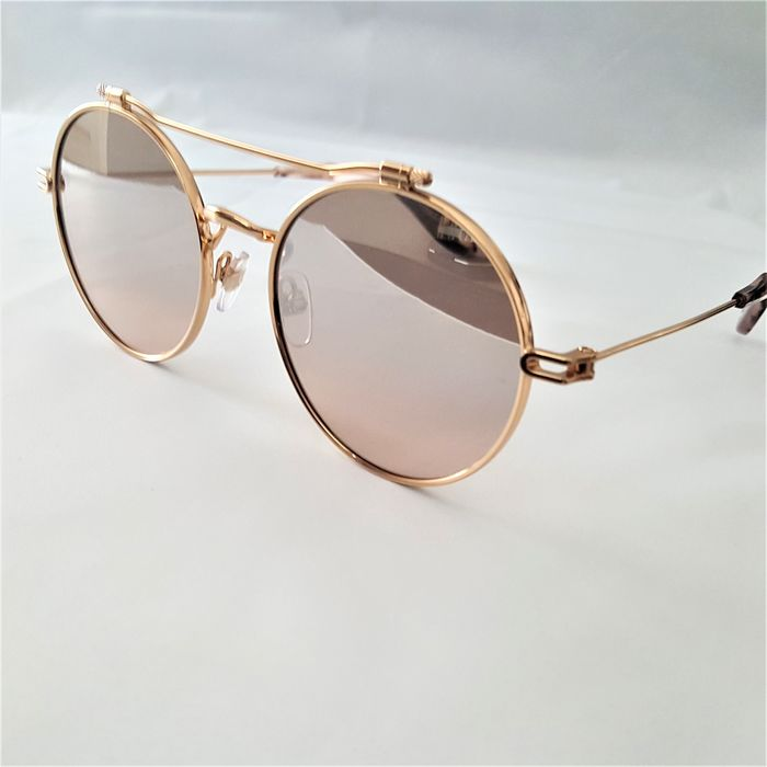 Givenchy - Round Aviator Gold Special Temples Marble - New - Made in Italy - 2020 Occhiali da sole