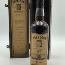 Aberlour 1980 22 years old Limited Edition Numbered - b. 2002 - 70 cl