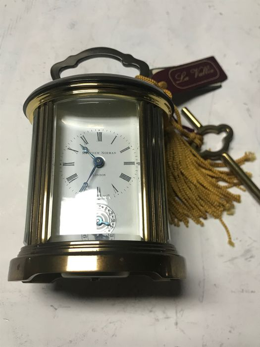 Carriage clock - Brass - Second half 20th century