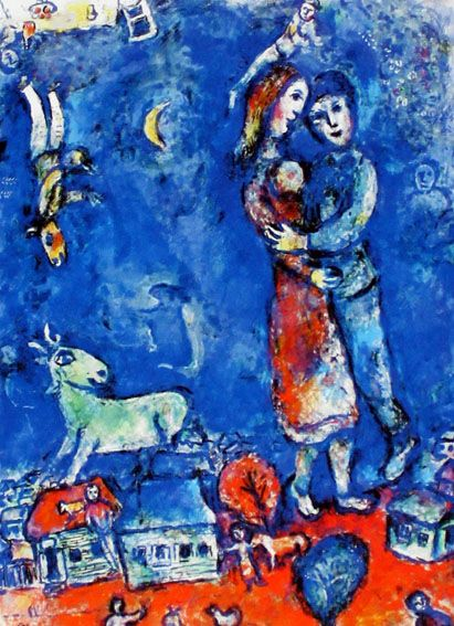 Marc Chagall (after) - Traumtanzer