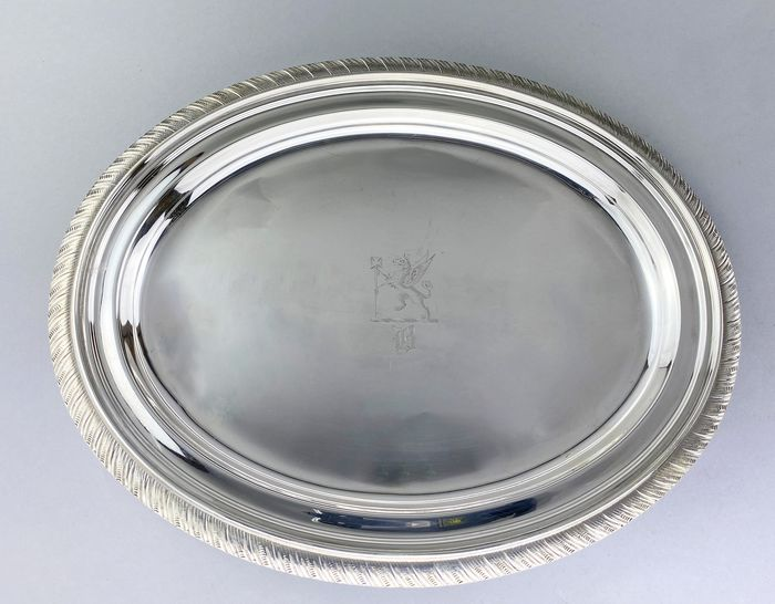 Tray - .925 silver - Tiffany & Co - U.S. - Ca.1873-1891