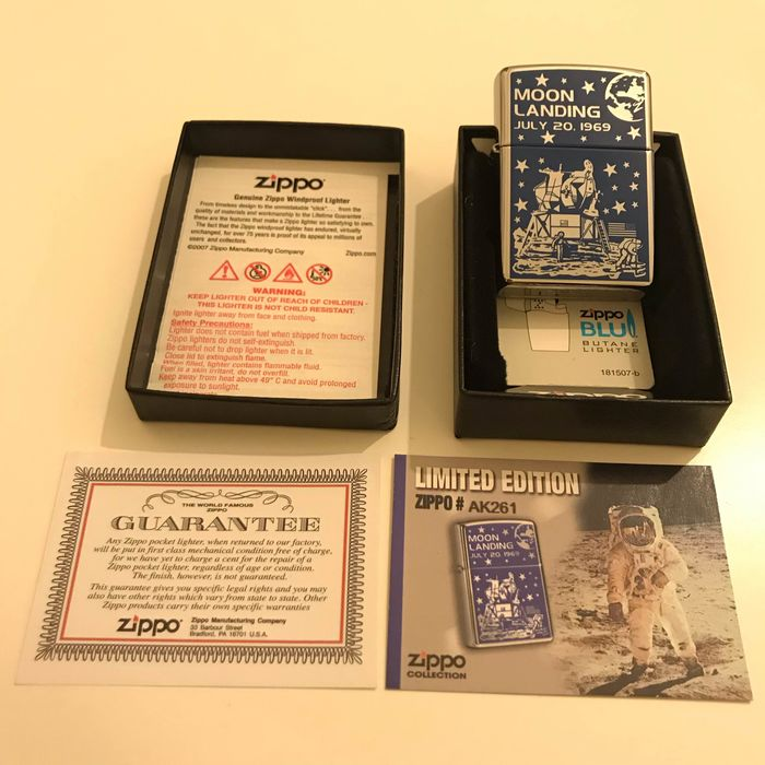 Zippo Limited Edition MOON LANDING - Lighter
