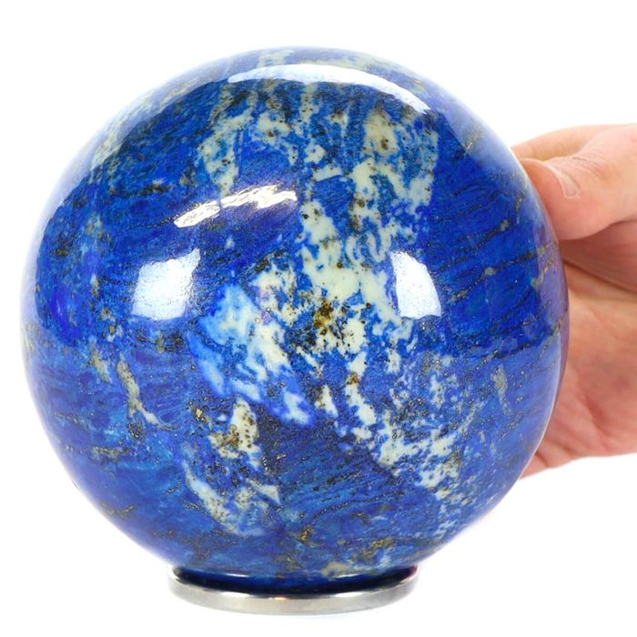 Lapis Lazuli Top Quality AAA Sphere - The Blue Planet - 123×123×123 mm - 3000 g